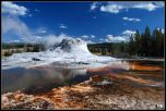 Йеллоустоун  - Yellowstone National Park, WY Пешеходная дорожка в долине гейзеров